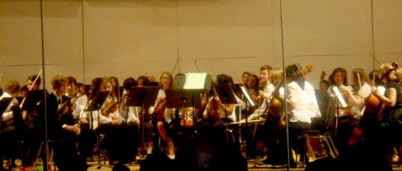 The Duke University String Symphony. (Photos by Praycious Wilson-Gay)