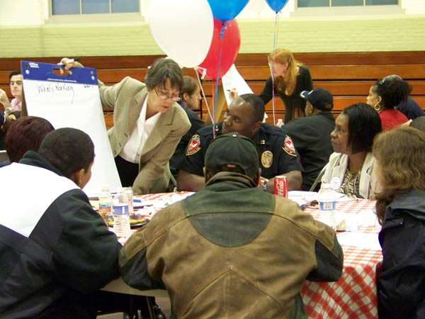 The working group included diverse community members. (Photo by Jamese Slade)