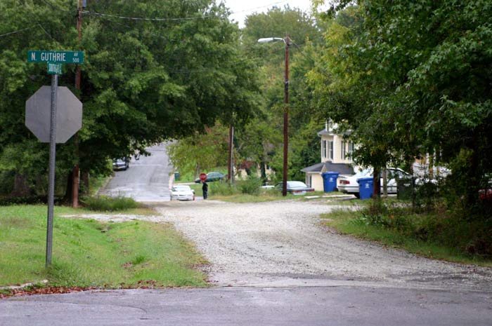 Durham has 175 unpaved roads totaling over 20 miles of dirt streets. (Photos by Briana Aguilar)