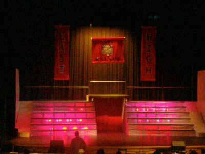 "The stage is set for Hillside High School's production of ""High School Musical."""